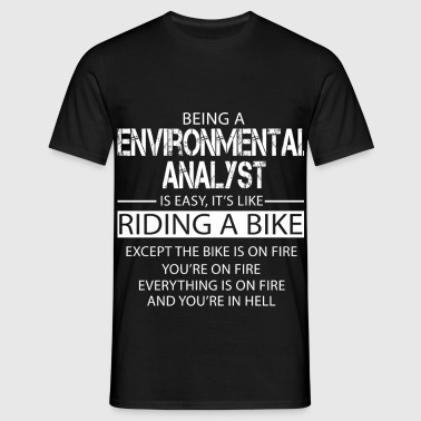 Environmental Analyst - Men's T-Shirt