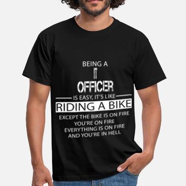 Officer IT Officer - Men's T-Shirt