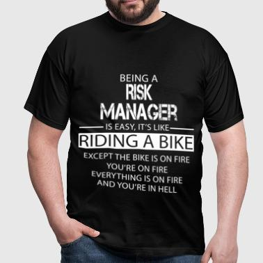 Risk Manager - Men's T-Shirt