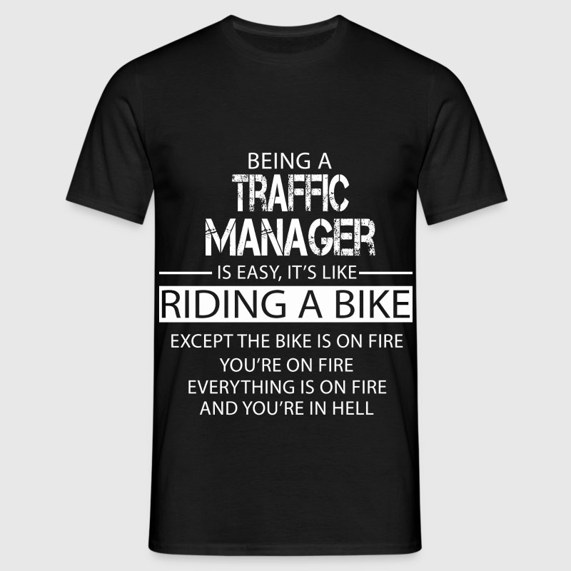 Traffic Manager - Men's T-Shirt
