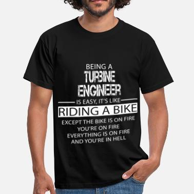 Turbine Turbine Engineer - Men's T-Shirt