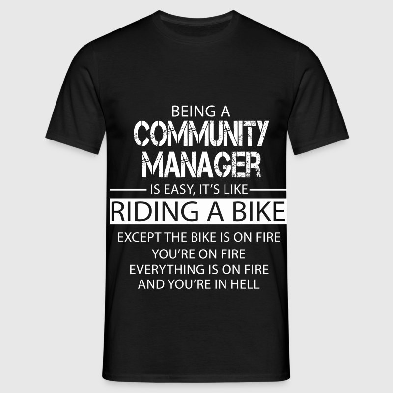 Community Manager - Men's T-Shirt