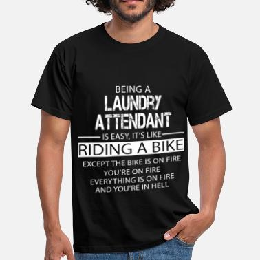 Laundry Laundry Attendant - Men's T-Shirt