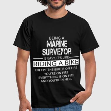 Marine Surveyor - Men's T-Shirt