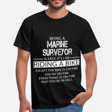 Surveyor Marine Surveyor - Men's T-Shirt
