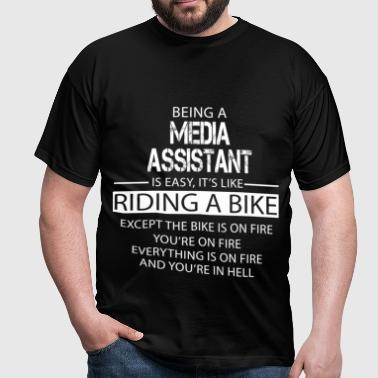 Media Assistant - Men's T-Shirt
