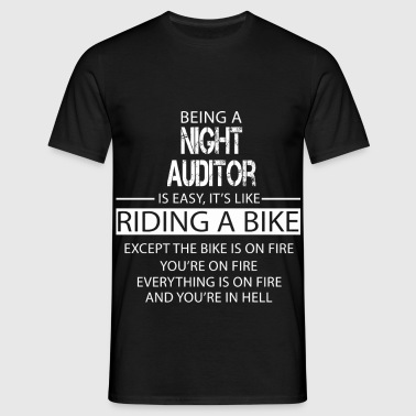 Night Auditor - Men's T-Shirt