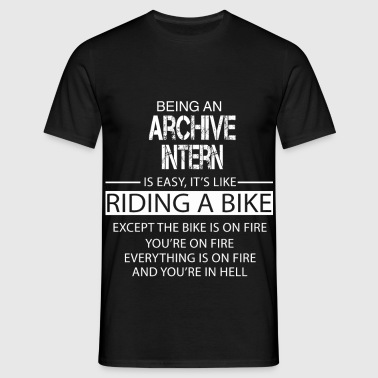 Archive Intern - Men's T-Shirt