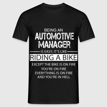 Automotive Manager - Men's T-Shirt