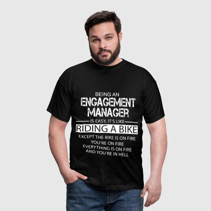 Engagement Manager - Men's T-Shirt