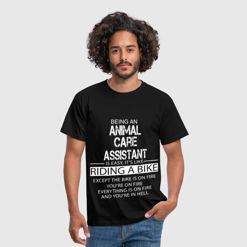Animal Care Assistant - Men's T-Shirt