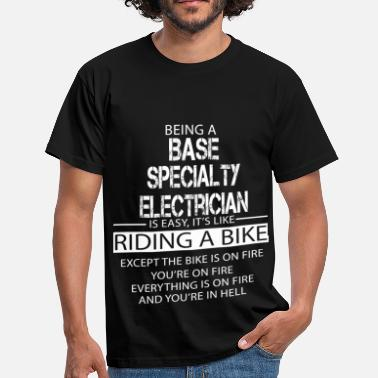 Specialty Base Specialty Electrician - Men's T-Shirt