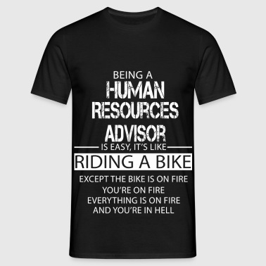 Human Resources Advisor - Men's T-Shirt