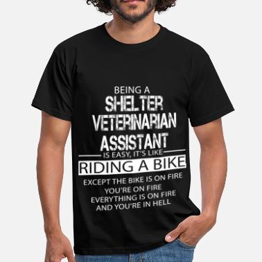 Shelter Shelter Veterinarian Assistant - Men's T-Shirt