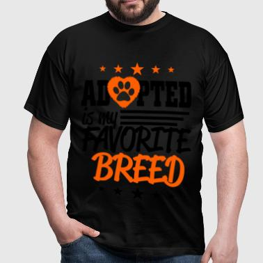adopted - Men's T-Shirt