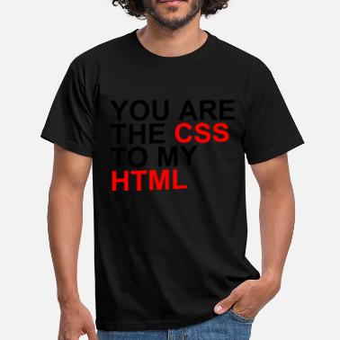 Html Css css to my html - Men's T-Shirt