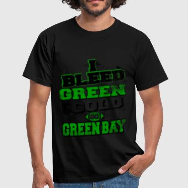 I bleed green and gold - Men's T-Shirt