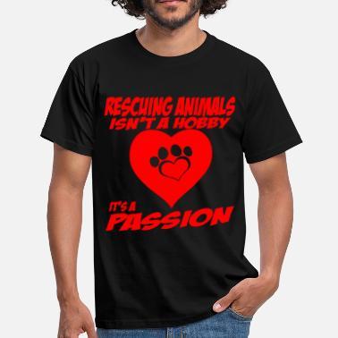 Animal Rescue rescuing animals - Men's T-Shirt