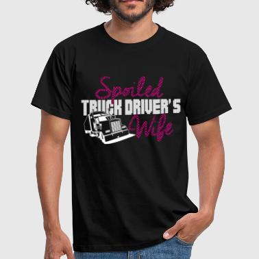 spoiled truck drivers wife - Men's T-Shirt