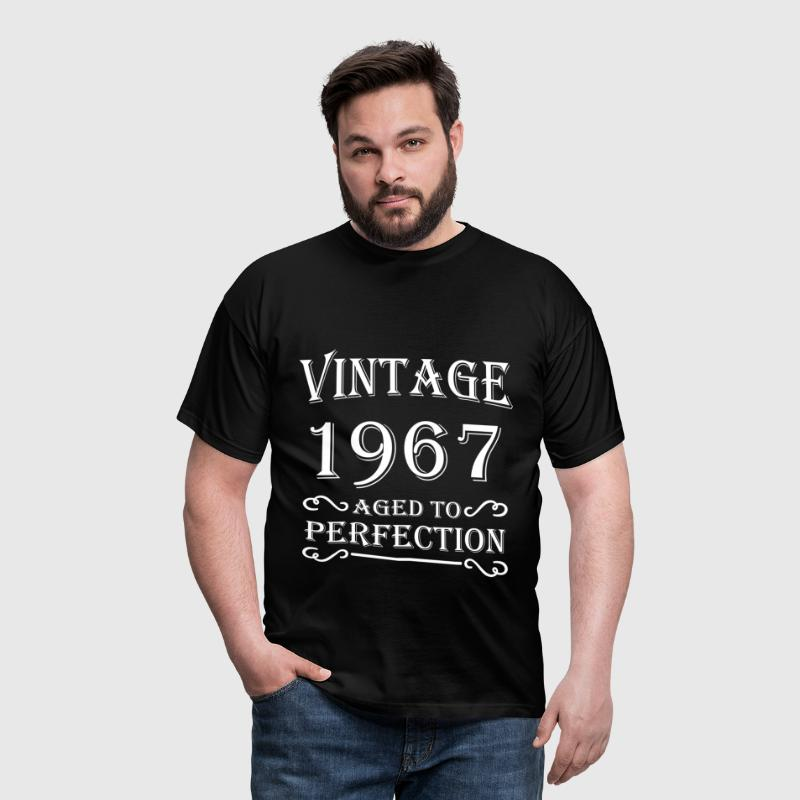 Vintage 1967 - Aged to perfection - Mannen T-shirt
