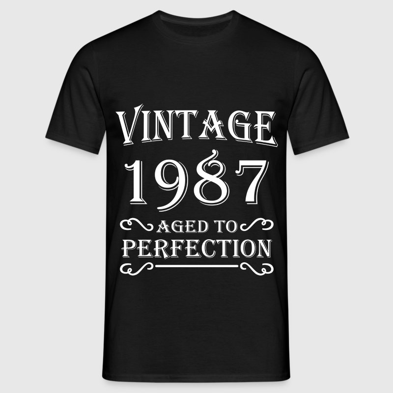 Vintage 1987 - Aged to perfection - Mannen T-shirt
