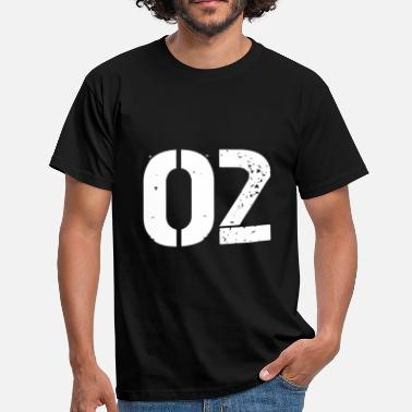 Jerseys 02 jersey jersey number - Men's T-Shirt
