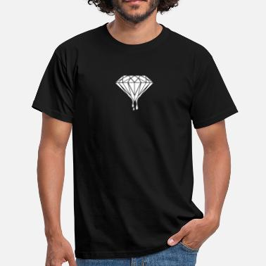 Diamond diamond - Mannen T-shirt