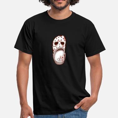 caa6f8830 Men's T-Shirt. Creature. from £15.01. Halloween Killer Shoes - Men's ...
