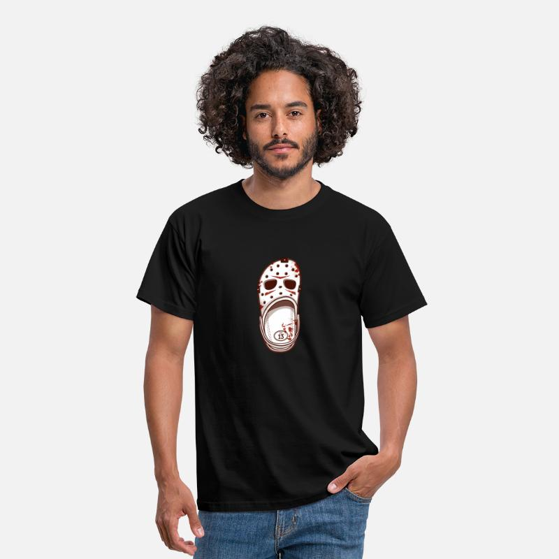 Halloween T-Shirts - Killer Shoes - Men's T-Shirt black