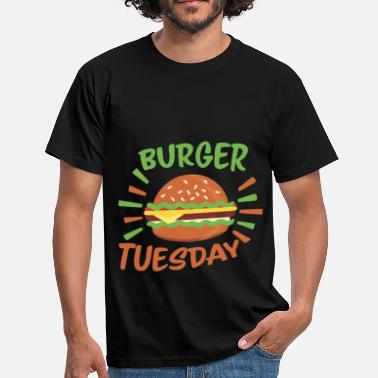 Fast Burger Fast Food - Burger Tuesday - Men's T-Shirt