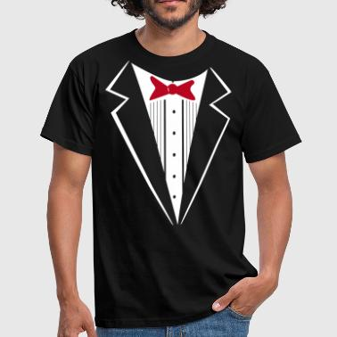 Suit Up 2 color - Mannen T-shirt