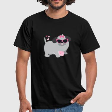 PUG DOG DOG PET PUG - Men's T-Shirt