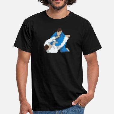 Art Pop JIu Jitsu, Grappling, Judo, Pixelart, Retro Gaming - Camiseta hombre