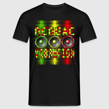reggae vibration - Men's T-Shirt