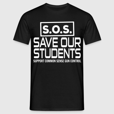 S.O.S. Save Our Students - Men's T-Shirt