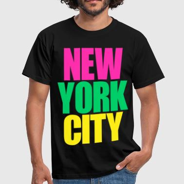 New York City colors - T-shirt Homme