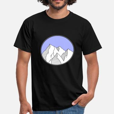 Hiking mountains - Men's T-Shirt