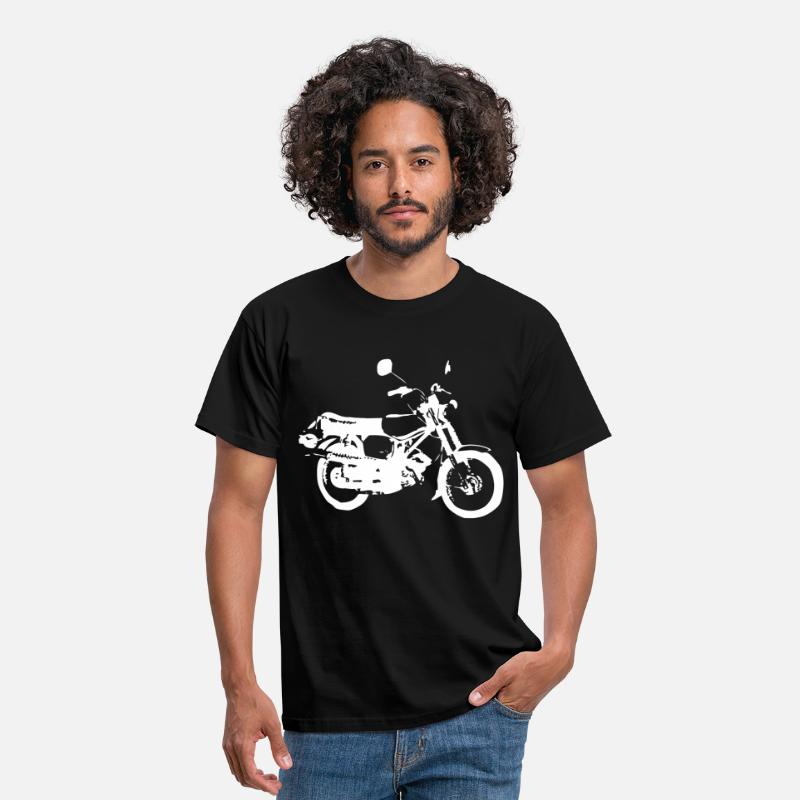 Simson T-Shirts - Simson S51 Enduro - Men's T-Shirt black