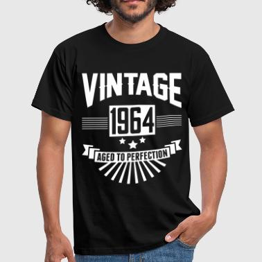 VINTAGE 1964 - Aged To Perfection  - Men's T-Shirt