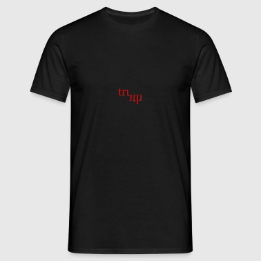 Twisted Truth Red - Men's T-Shirt