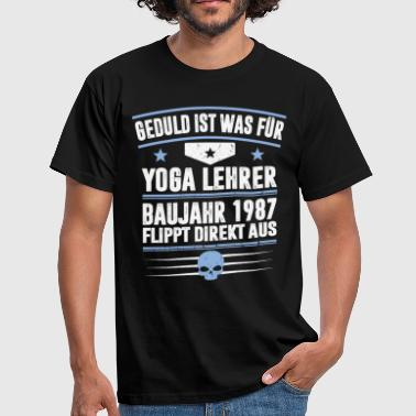 1987 Year CONSTRUCTION YEAR 1987 - Men's T-Shirt