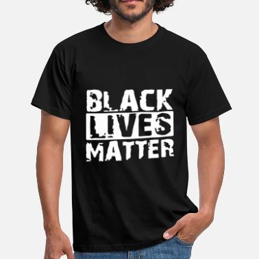 Blackpower Migration Politik Statement - Männer T-Shirt