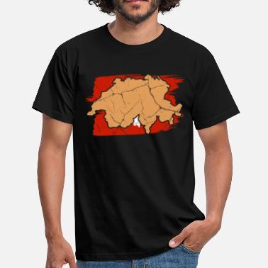 Switzerland Alps Switzerland Zurich gift Alps Swiss - Men's T-Shirt