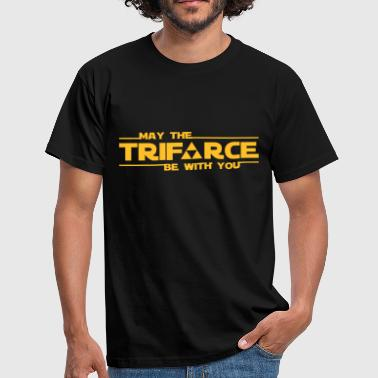 Triforce be with you - Männer T-Shirt