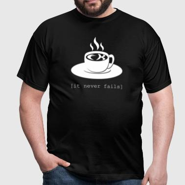 FK in the coffee - Männer T-Shirt