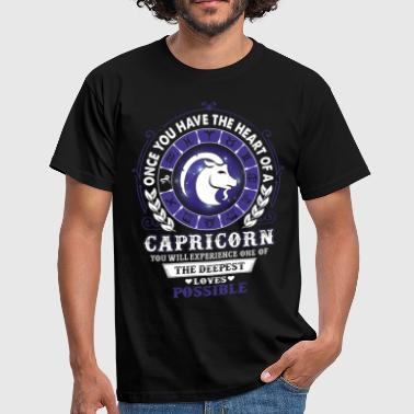 Capricorn Capricorn - Deepest Loves Possible - Men's T-Shirt