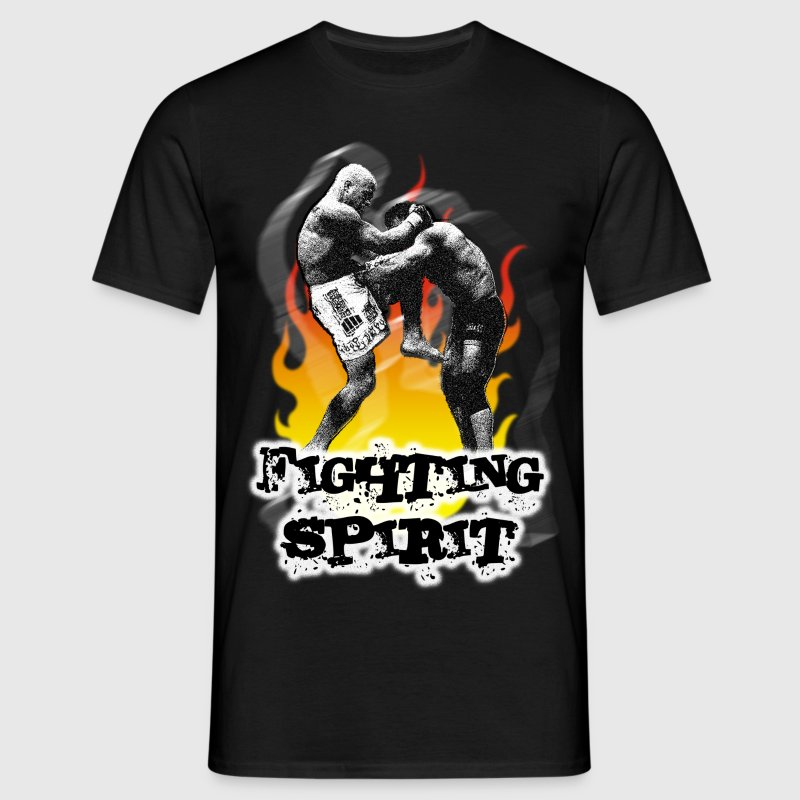 Fighting spirit - T-shirt Homme