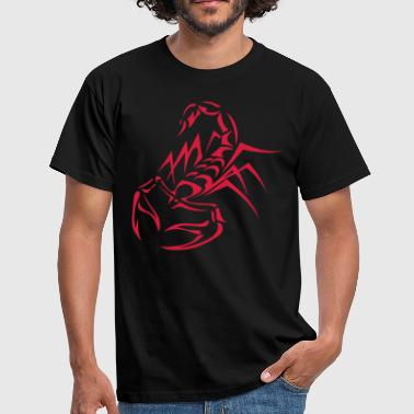 tribal scorpion - Men's T-Shirt