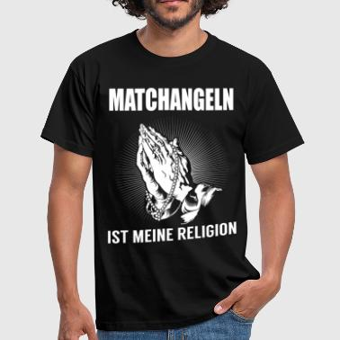 Match fishing - my religion - Men's T-Shirt