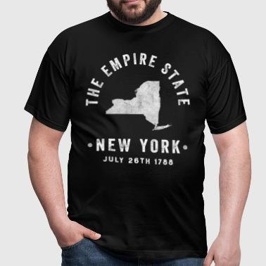 New York, the Empire state - Men's T-Shirt